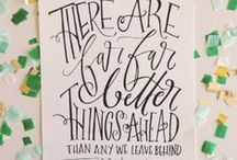hand-lettered / by Anna Cline