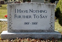 Headstones/Gravestones / by Denise Borg