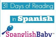 31 Days of Reading in Spanish for #BilingualKids / Throughout the month of July we're reviewing one children's book in Spanish per day. To that end, we've enlisted the help of our contributors and some guest writers to bring you reviews of some popular Spanish and bilingual books as well as some unique and hard to find ones that we've recently discovered. And to help you grow your child's library in Spanish, we've also put together an easy-to-enter giveaway. More details: http://bit.ly/12A13IU / by SpanglishBaby