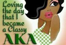 Pretty Girls wear 20 Pearls- AKA / Alpha Kappa Alpha  / by Erica Oliver