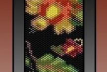 B-did Bracelets flatwork peyote patterns / by I'm Loving Beads Nancy Gound