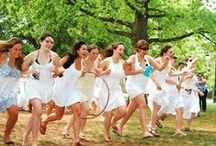 BMC Traditions (anything but traditional) / BMC loves its traditions—they're part of what makes this such an amazing and special community. From Lantern Night to May Day and everything in-between, traditions at Bryn Mawr play a huge role in the student experience.  Anassa! / by Bryn Mawr College Admissions