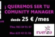 Somos tu Community Manager / by INVENZIA Empresa