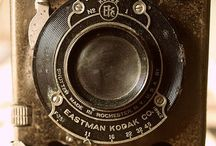 Photo Cameras, Vintage / Early, old, or of interest film cameras. / by Gene Cross