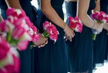 Blue and Pink Wedding / by Weddington Way