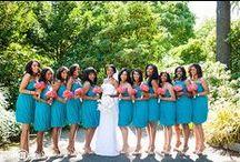 Aqua and Pink Wedding / by Weddington Way