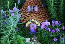 for the fairy folk / A bit of creative gardening, repurposing, crafting and storytelling. / by Linda Pruitt