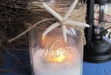 Mason Jar Candles and More / by Cindy Connors (Nixon)