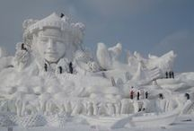 Snow Sculptures / by Jan Jacobs
