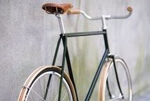 ~cool bikes~ / One day I shall own a cool bike, with basket at the front or maybe a wine crate at the back... to carry my freshly cut flowers... the dream / by Lou Archell | littlegreenshed