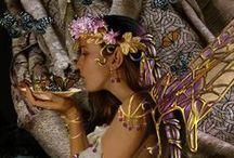 Fairies/Gardens/flowers / by Jane Baskin