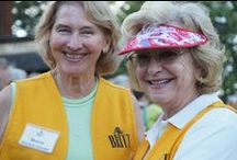 Britt Festival Volunteers / Britt owes a great debt of gratitude to its 300 plus volunteers who are essential to the running of each season.  Meet them here. / by Britt Festivals
