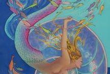 mermaids / by Jaianna Jarvis