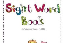 Education~ Sight Words & Spelling / by Lucie Boyer