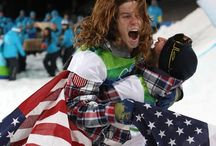 Shaun White. / The Flying Tomato. / by Eve Anderson