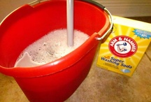 Household cleaners & misc / by Kathy Powell