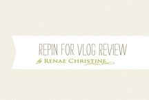 Want to review on my vlog / by Renae Christine