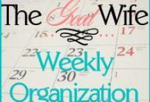 OCD Organization / by Honey Badger