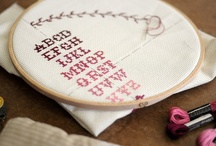 stitching / by Two Cheese Please