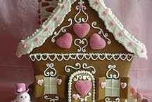 Gingerbread Houses / by ThunderStormGraphics