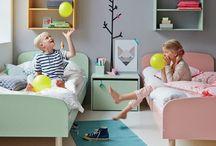 Kiddie Rooms & Style / Kid room design. Kid style.  / by Mia Heiman