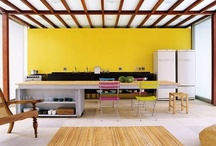 Mellow Yellow - Plascon Colour Inspiration / Sunshine and happiness. 