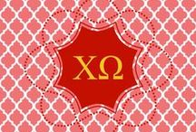Chi Omega-XO / All things Chi O. / by Robbie Gill