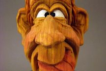 Carving Wooden Characters / by Tim Frock