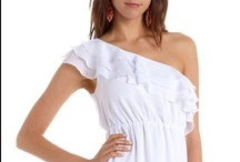 Trending: White Dresses / We love dresses, but we also love them in white too! / by Charlotte Russe