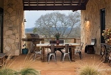 Breezeway   / Breezeway ideas for our Texas Hill country home. / by Rustic Sinks