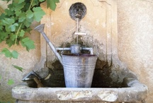 Fountains and Water Features / by Delores Arabian (Vignette Design)