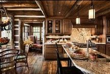 """Rustic Kitchens / Welcome to """"Rustic Kitchens"""" This is a group board for rustic kitchens and anything pertaining to them. Sinks, stoves, on the wall , cabinets, beams, solid wood furniture etc. To request an invite , comment on one of my """"invite"""" pins , located throughout the board.  Rustic Sinks has many products for that rustic kitchen style, such as copper & stone farmhouse sinks, copper range hoods and lighting. RusticSinks.com  / by Rustic Sinks"""