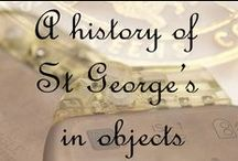 A history of St George's in objects / To celebrate St George's rich and varied history we have chosen to highlight some objects that reflect our achievements. Unfortunately, some of these objects are currently not available for public viewing. The copyright for these images is held by St George's, University of London. All rights reserved. / by SGUL Library