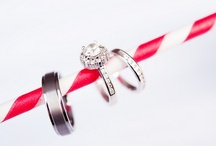 Modern Wedding // Ring Shots / by Kate Myhre // Modernly Wed