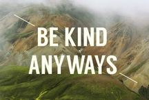 be kind / by Love ly