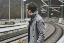 Stylish Men / by Kate Myhre // Modernly Wed