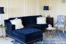 Glamorous Living Room / by Arica Rosenthal