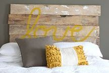 Eclectic Bedroom / by Arica Rosenthal