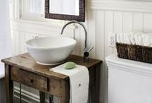 Rustic Bathroom / by Arica Rosenthal