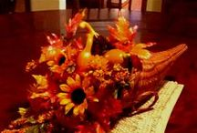 Fall/Thanksgiving Dishes & Decor~ / by Jeana715
