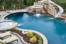 Pool and Backyard / by Natalie Terry