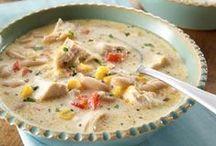 Food: Soups / by Kayla Stewart