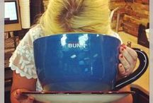 Mugs, Mugs and more mugs / Every Monday we share cool, interesting coffee mugs or coffee mug recipes.  Have a cool mug?  Share your mug with us!  / by BUNN