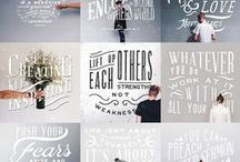 Thoughts and Type / by Laura Di Pierro
