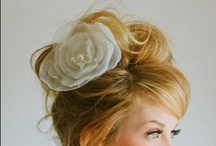 All Dolled Up: Hair / Bride and bridesmaid hairstyles - some DIY, some call for a professional! / by Little Borrowed Dress