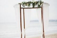 Beach Wedding / Say I do on the shores of the ocean and make your beach wedding picture perfect with these details for your special day. / by Little Borrowed Dress