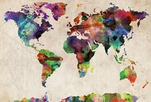 A Colorful World / by Stephanie Barnett
