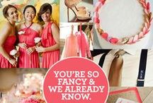 Color Inspiration / Inspiration to help you figure out the perfect color scheme for your wedding day! Colors utilized match perfectly with the LBD palette. Order a free swatch today at www.littleborroweddress.com!  / by Little Borrowed Dress
