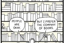 Books  / Books and book stuff / by Squirrely Broad