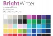 THE Bright Winter Color Analysis / This Personal #Color Analysis palatte is lucid, intense & brillant with neutral leaning to cool hue, medium value and bight chroma. Contact certified color #analyst Lisa K. Ford at www.inventyourimage.com or 813-766-8375. / by Invent Your Image by Lisa K. Ford